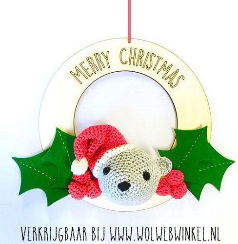 Hardicraft Kerstbeertje Met Krans